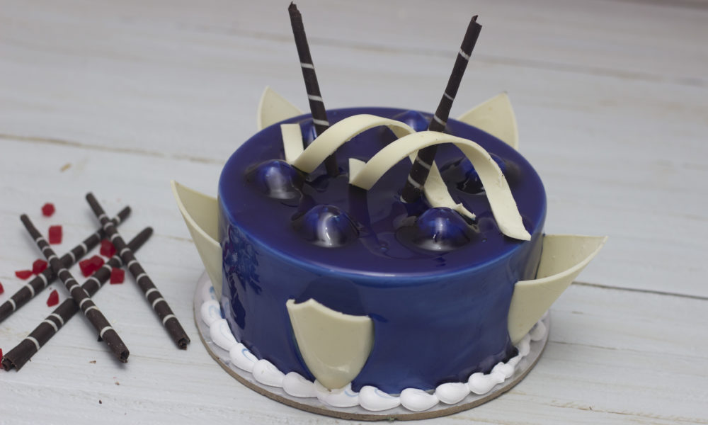 Bluberry Cake Eggless